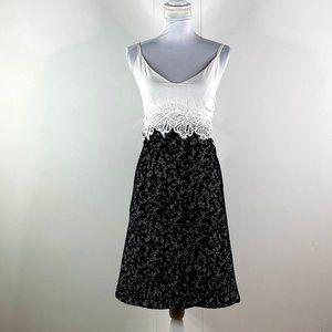 MICHAEL KORS  WOMEN'S black zipper skirt SZ XL